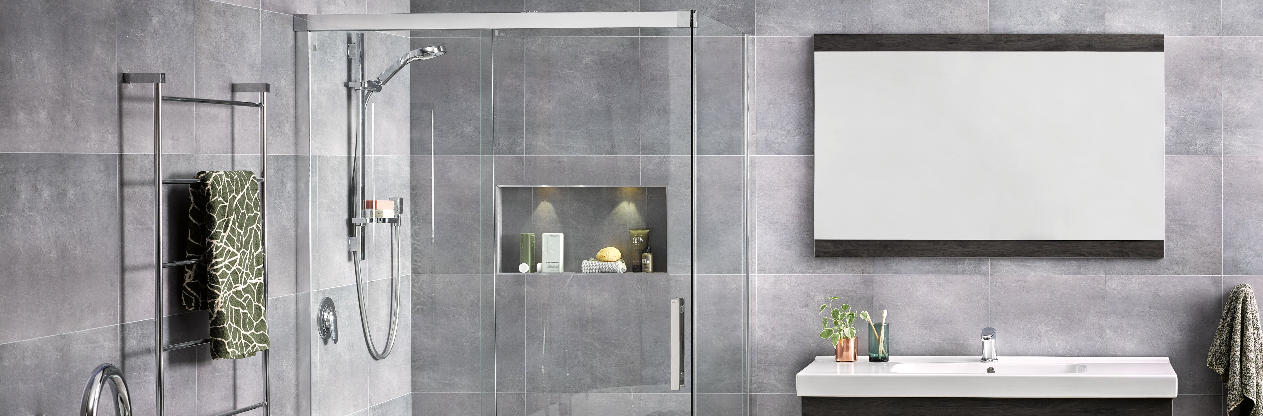 Athena bathrooms bathroomware designed for new zealand homes for Small bathroom designs nz