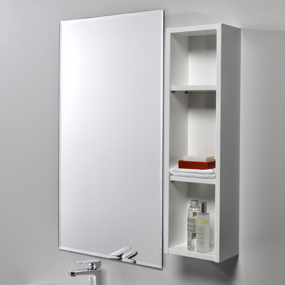 Soji 200 Open Shelf Unit White Gloss - RRP $160