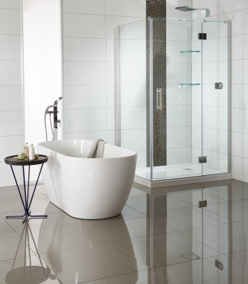Allora Shower and Cassini 1500 Bath