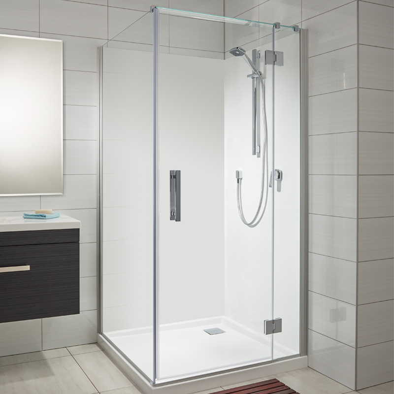 new range motio sliding door shower soul acrylic wall shower