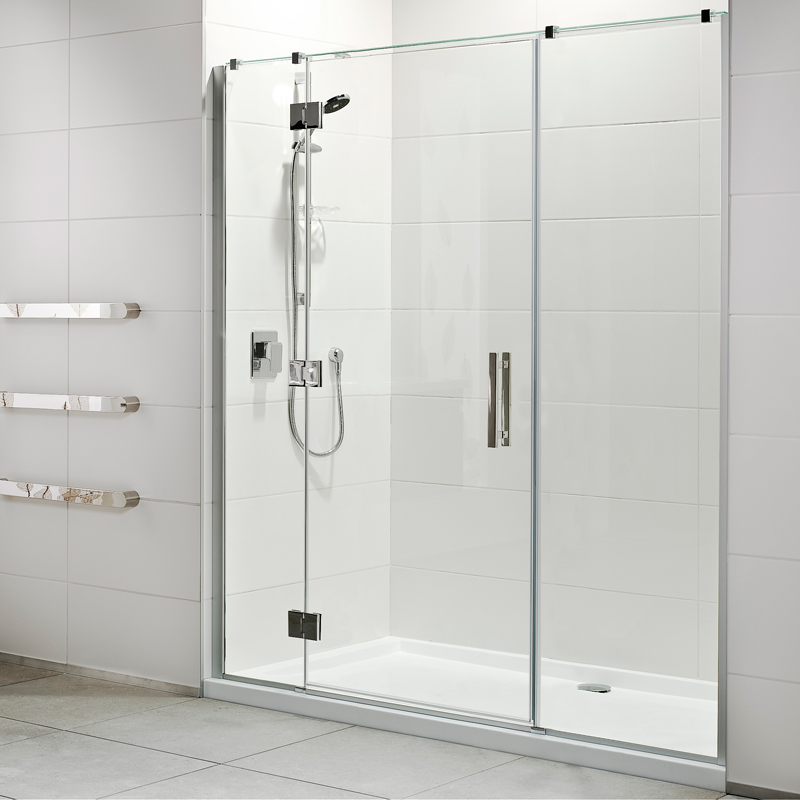 new range motio sliding door shower lifestyle acrylic wall shower