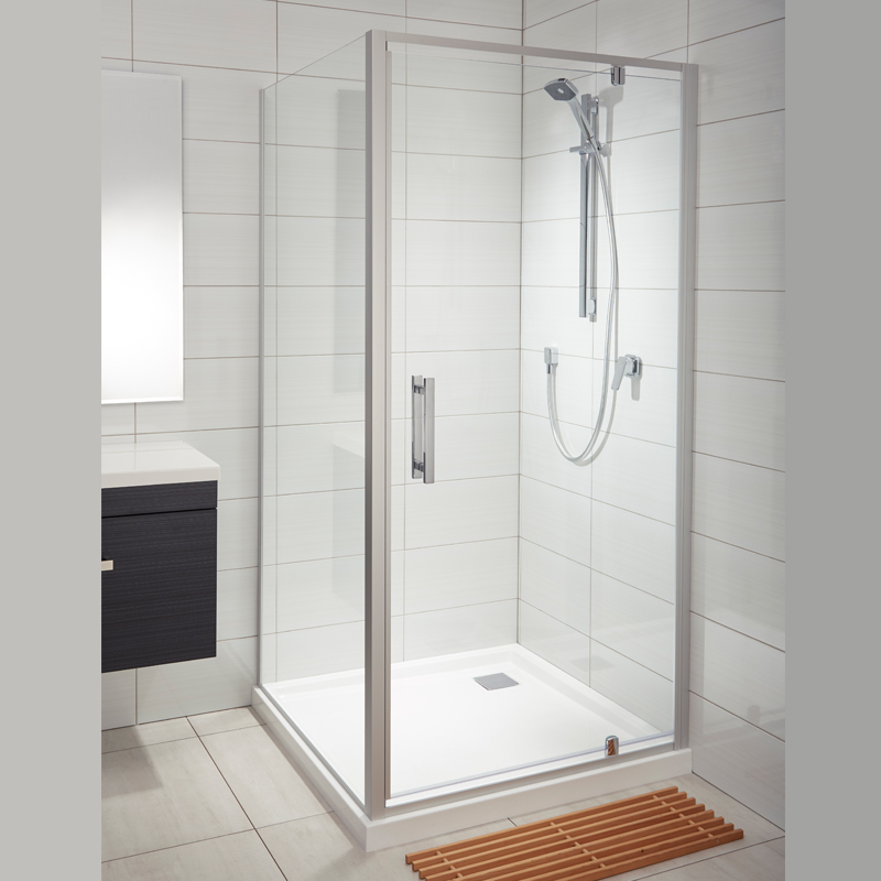 Allora acrylic wall shower athena bathrooms Bathroom tile showers