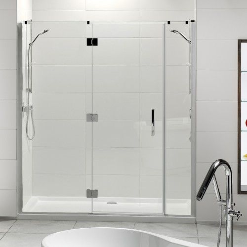 ... Lifestyle 1000x1800 3-Wall Tiled Wall Shower Offset Door Long Hinge panel - RRP $3230 ... & Lifestyle Tiled Wall Shower | Athena Bathrooms Pezcame.Com