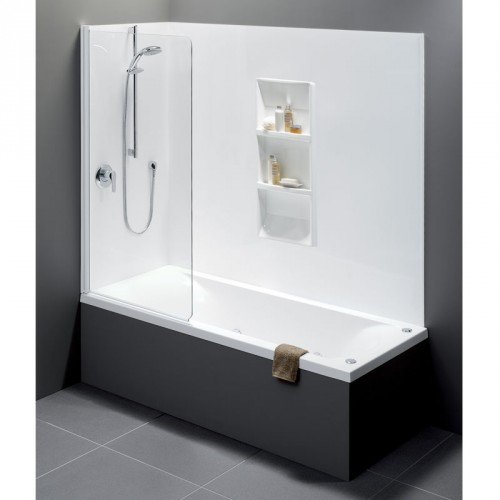 liquid 1675 shower over bath with standard bath swing