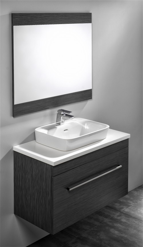 Sirocco Soltero 900 Savanna Box Handle Pure White Bench Valdama Basin