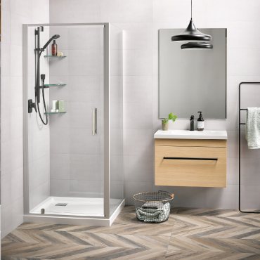 Soul 900x900 2 Wall Square Tiled Wall Satin - RRP $1500