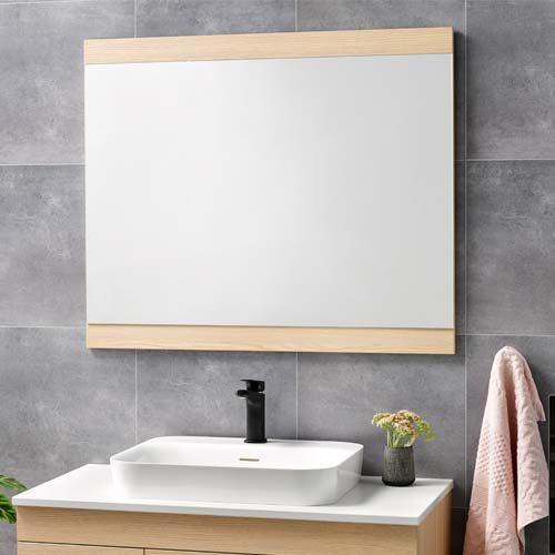 Soji Flat Mirror 900 Premium Oak  - RRP $340